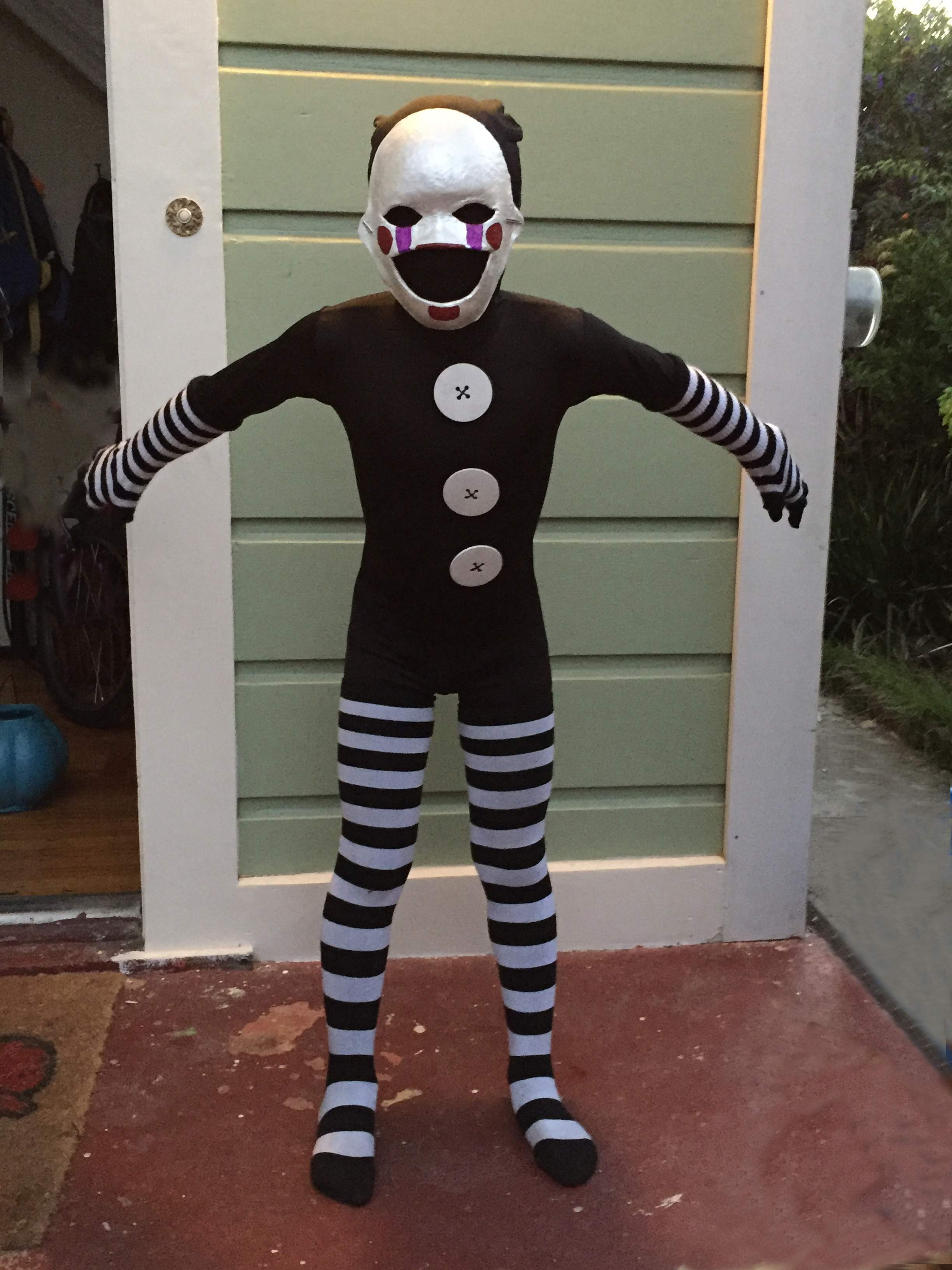 Marionette Costume From Five Nights At Freddy S